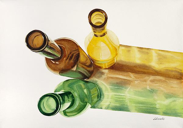 Du soleil en bouteilles